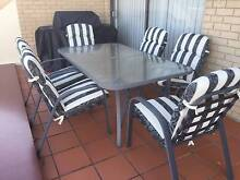 Quality Outdoor Dining Setting + Removeable Covers for 6 People Balgowlah Manly Area Preview