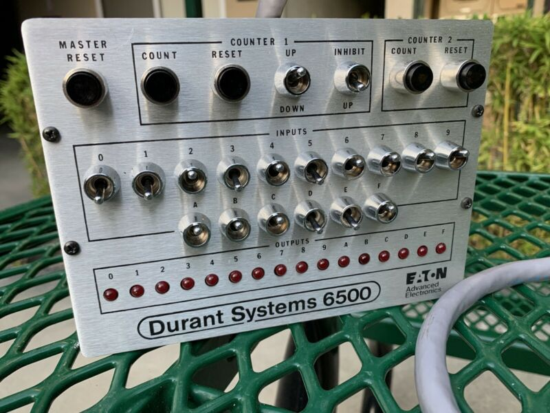 eaton Durant Systems 6500 56510-400 4-85 Controller
