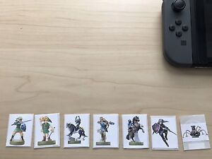 Custom amiibos (NFC tags) tested and working