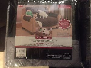 Reversible, Quilted Couch & Loveseat Covers