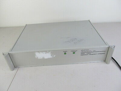 Novatech 1450a Rubidium Frequency Standard W Mutiple Bnc Outputs Tested Works
