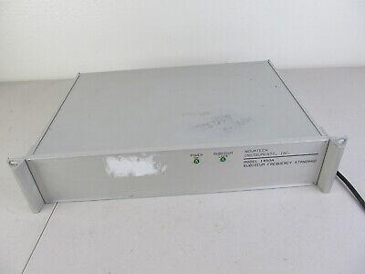 Novatech 1450a Rubidium Frequency Standard W Mutiple Bnc Outputs Tested Works