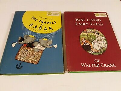 Dandelion Library 2 in 1 Book lot. Travels of Babar. Best Loved Fairy