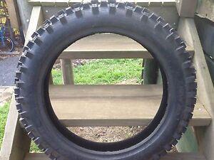 """18"""" dirt bike tyre Creswick Hepburn Area Preview"""