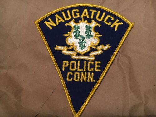 NAUGATUCK CONN. POLICE patch NB