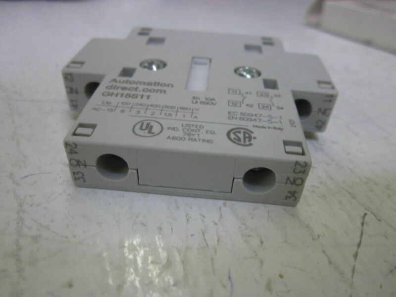 LOT OF 12 AUTIOMATION DIRECT GN-15S11 690V CONTACTOR *NEW IN BOX*