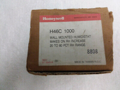 Honeywell H46c 1000 Humidistat 20-80 Range Lvr