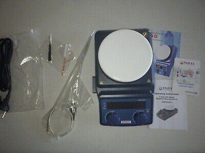 Led Digital Magnetic Hotplate Stirrer - Four Es Lab Hot Plate With Stir Bar