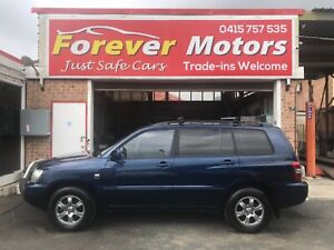 2003 Toyota Kluger CVX (4x4) AUTOMATIC WAGON Long Jetty Wyong Area Preview
