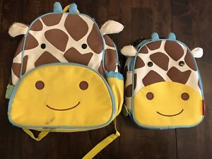 Skip Hop Toddler/Baby Backpack & Lunch bag