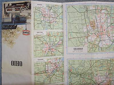 1975 OHIO TEXACO MAP