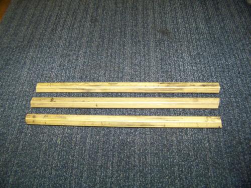 """Brass 11/16"""" Hex Bar 12"""" Long 3 Pcs. New"""