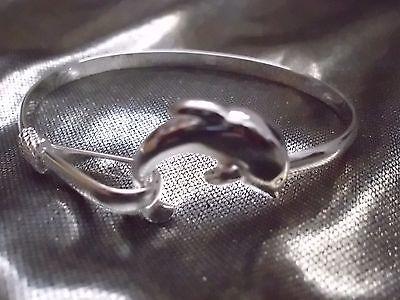 Delphin-Armreif - wunderschön! Silber 925