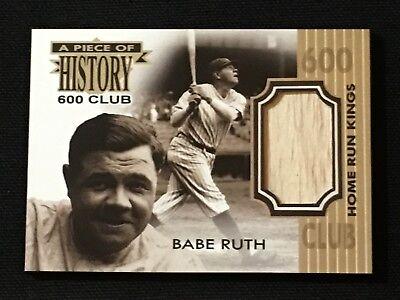 Babe Ruth Custom New York Yankees Bat Card Art 600 Home Run Club