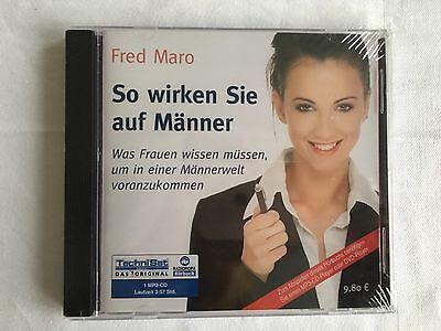 SO WIRKEN SIE AUF MÄNNER - FRED MARO - HÖRBUCH - MP3-CD - NEU & OVP (Sie Mp3)
