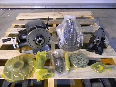 Interstate Universal Indexing Center W Head Tailstock Gears Spindle Plates