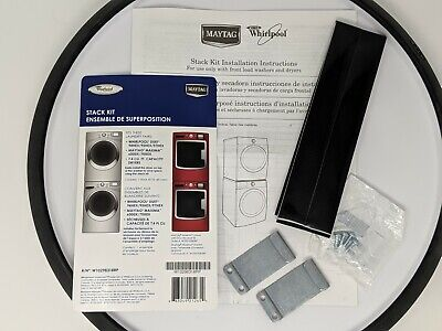 OEM Washer Dryer Stack Kit For Maytag MAXIMA 6000X/7000X W10298318RP New Sealed Maytag Stacking Kit