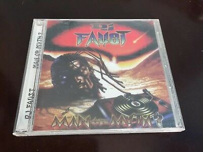 DJ Faust : Man or Myth? CD Bomb Hip-Hop Records Turntablism Scratch 1998 USA