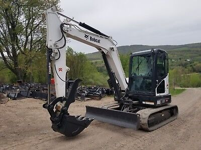 2014 Bobcat E63 Excavator Fully Loaded Low Hours Ready To Work In Pa
