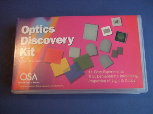 Optical+experiments+kit+Optical+Society+of+America+Optic+Discovery+Kit