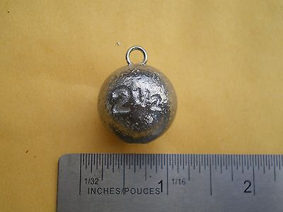 FREE SHIPPING choose quantity 12//25//50//100//200 2 oz cannon ball sinkers