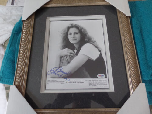 Julia Roberts autographed 8x10 photo  in a 14x16 frame PSA Certified