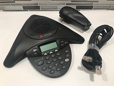 Polycom Soundstation 2 Expandable Conference Phone - 2201-16200-601
