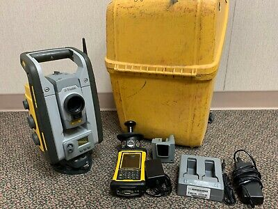 Trimble Rts555 5 Dr Std Robotic Total Station - Trimble Nomad Mep 2.4