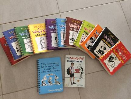Diary of a wimpy kid full set 2 wimpy kid diy books childrens diary of a wimpy kid set solutioingenieria Gallery