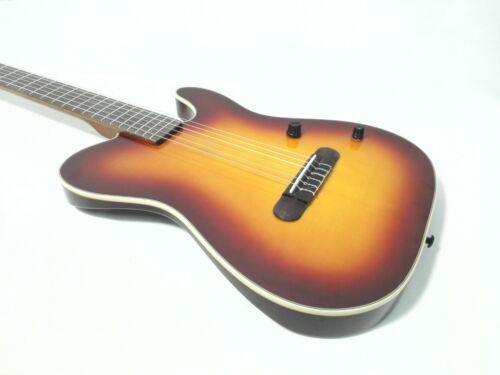 Haze MRC601EQCS Nylon String Electric Guitar,Solid Mahogany,Piezo Pickup+Gig Bag