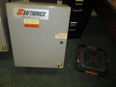 Saftronics Enclosed Soft Start 328x-50 Nema 412 Enclosure Used