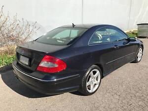 2009 Mercedes-Benz CLK280 Coupe 157xxx ks $15,990