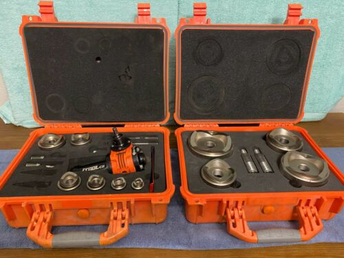"""ITOOLCO GP122 and GP123 GEAR PUNCH KNOCKOUT GP124 TOOL KIT, 1/2"""" TO 4"""""""