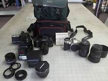 Cannon SLR plus extras St Helens Park Campbelltown Area Preview