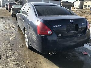 Nissan maxima part out!