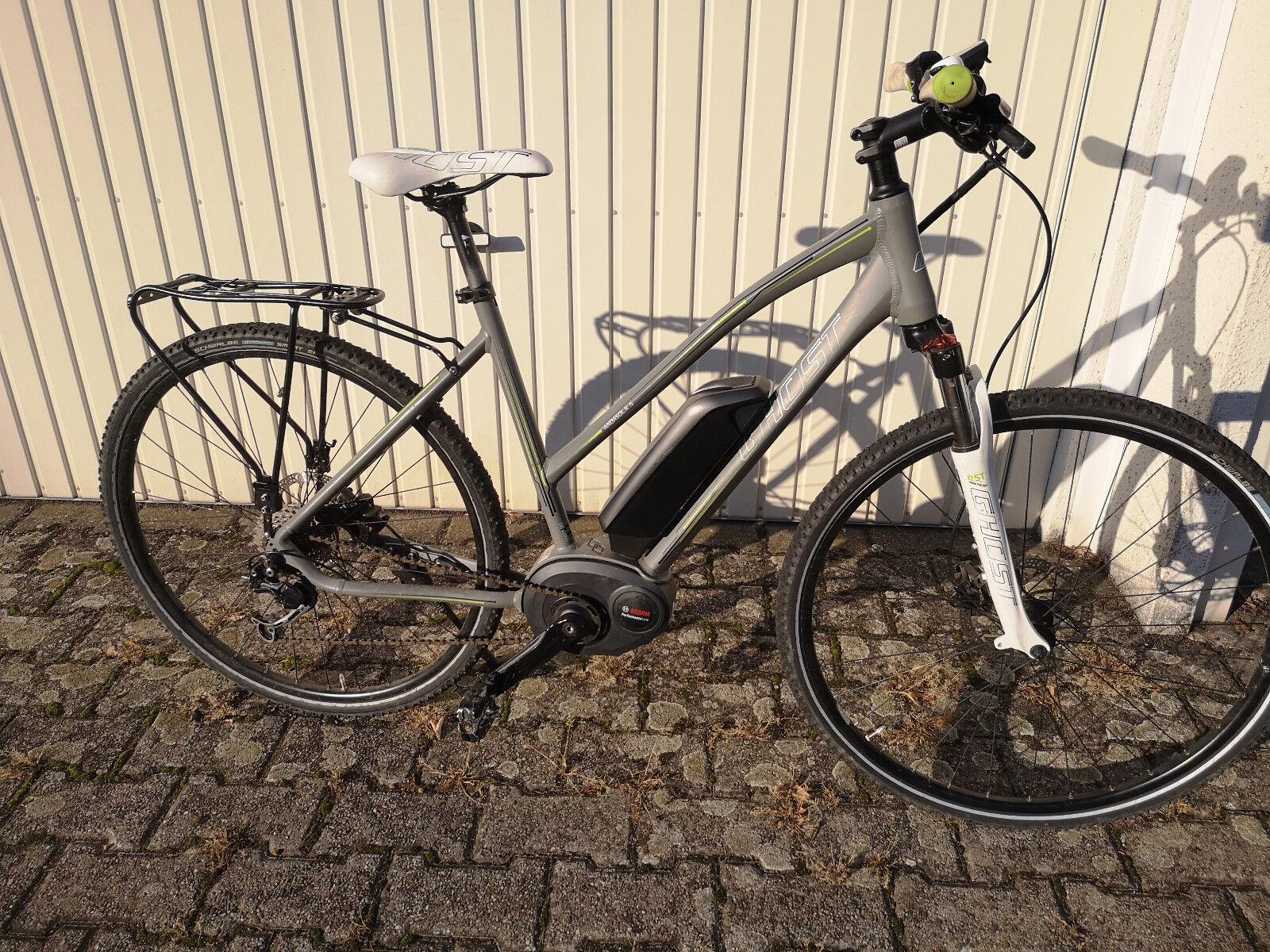 GHOST Andasol E-bike Ebike mit Bosch Performance Motor 500wh Akku