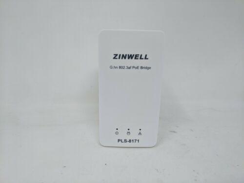 Zinwell G.hn 802.3af PoE Bridge, Ethernet Adapter, PLS-8171