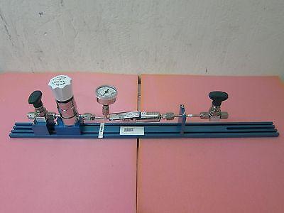 Kinetics Gas Line, Tescom 60, Ametek Gauge, Pall Filter SGLFPF6402VMM4 bent line