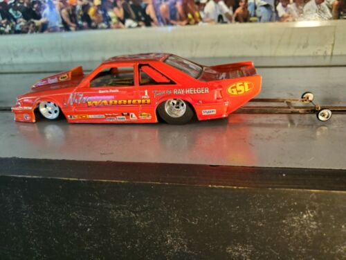 MUSTANG PRO MOD!!! NICE PAINT!!! VERY NICELY BUILT 1/24  DRAG CAR!!