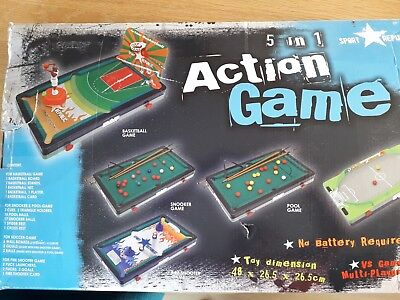 5 IN 1 TABLE GAMES SET