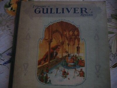"Livre anciens "" Voyages de Gulllver """