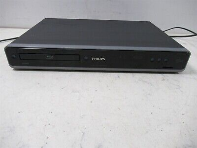 Philips Blue-Ray Disc Player BDP 7310 Black Deck w/ SD Card Slot & BD Live