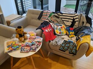 Boys 1-2 yr old clothes & toys