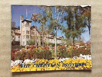 Vintage 1970's Christian Brothers Winery 'Napa Valley' Refrigerator Magnet 3""