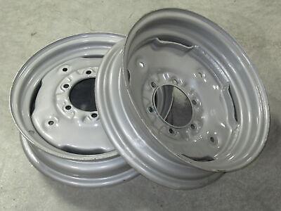 2 Wheel Rims 4.5x16 For John Deere Jd 1020 1520 1530 2020 2030 2040 2240 2440