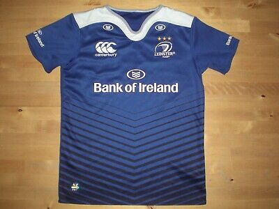LEINSTER CANTERBURY HOME RUGBY UNION SHIRT - MEDIUM BOYS (APPROX AGE 10) *GREAT  10 Home Rugby Shirt