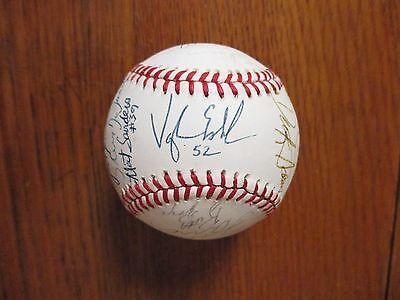 1991 Bluefield Orioles Team-Signed(23)Baseball(w/VAUGHN ECHELMAN/BOBBY CHOUINARD
