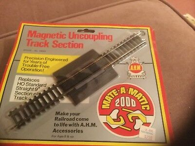 AHM 19004 HO Nickel Silver Magnetic Uncoupling Track Section
