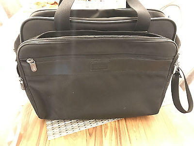 Hartmann Luggage Intensity Black Attachable Tote 1410