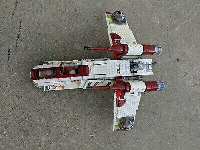 LEGO 7676 Star Wars Republic Gunship INCOMPLETE READ DESCRIPTION